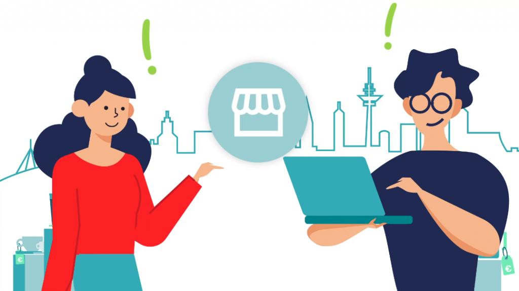 In einfachen Schritten von Offline hin zum Onlinehandel.
