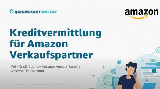 Kreditvermittlung für Amazon Verkaufspartner